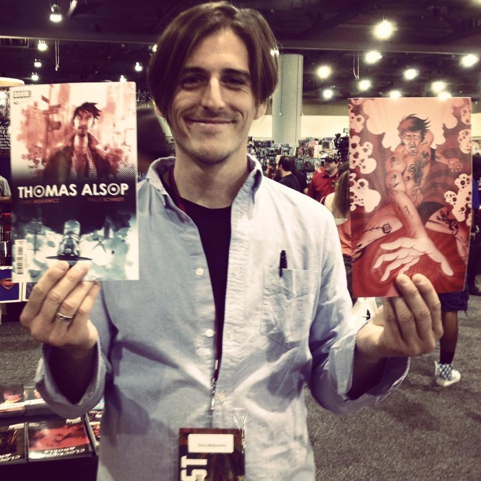 Chris Miskewicz at Phoenix Comic Con 2014.